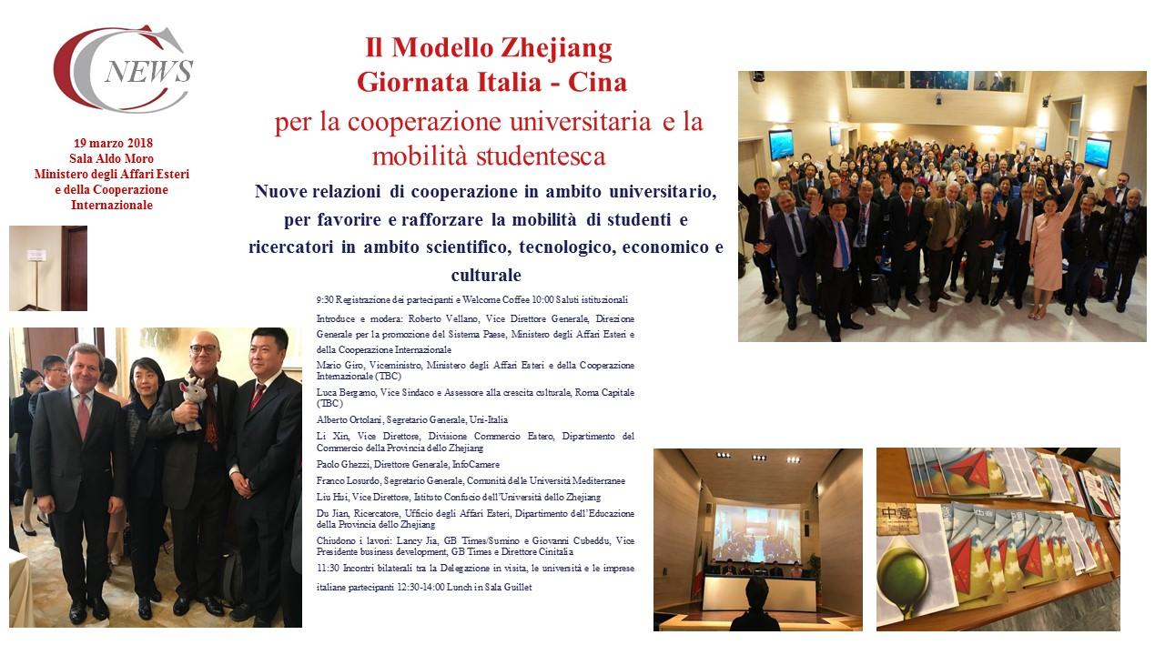 19 marzo 2018 Italia Cina MAE